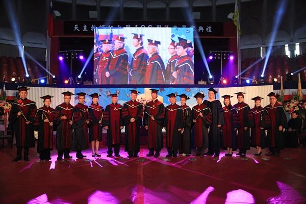 106學年度畢業典禮-溫馨與滿滿祝福-歡送畢業生