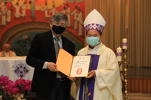 President Chiang Talks Future of FJCU at Reappointment Mass